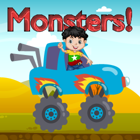 monster track game icon