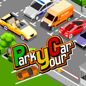 park your car game icon new