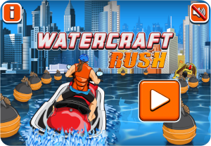 jet ski game rush start racing
