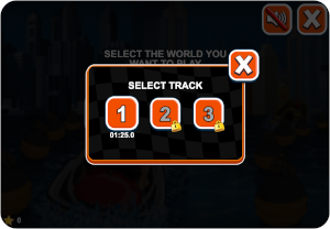 jet ski game track selection