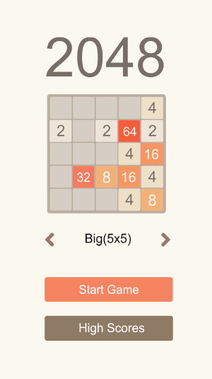 2048 puzzle challenging level