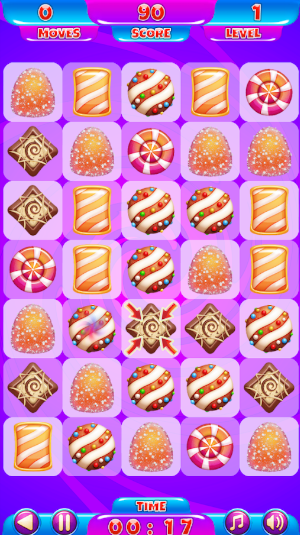 move candies to win