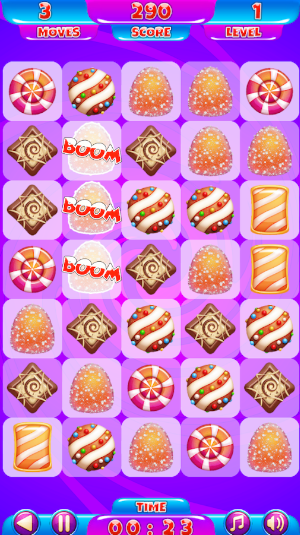 move on time with candy match3