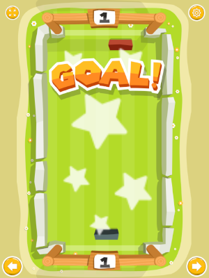 goal well done