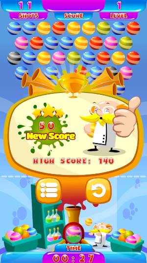 professor bubble high score