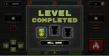 level completed