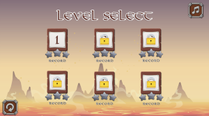 game level selection