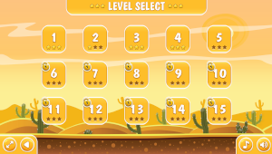 zombie shooter level selection