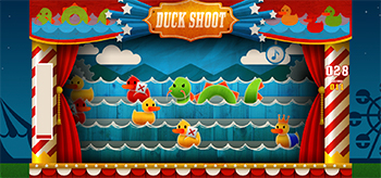 duck shoot game play