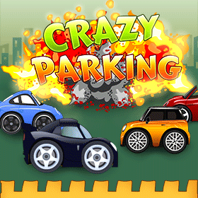 crazy parking game icon