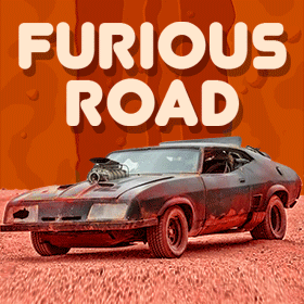 furious road game icon