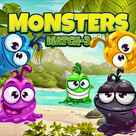 Match 3 Puzzle Monsters icon