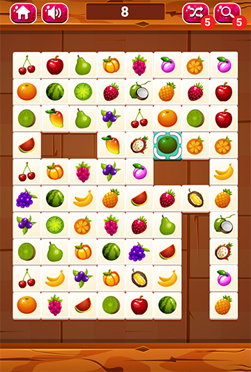 onet fruit game play