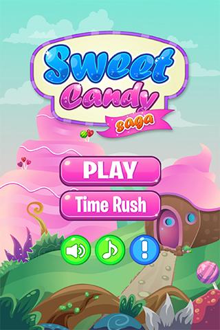 sweet candy play start