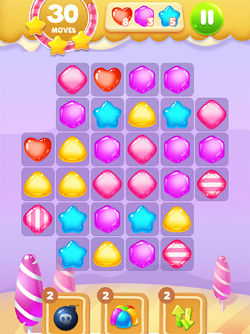sweet puzzle game play