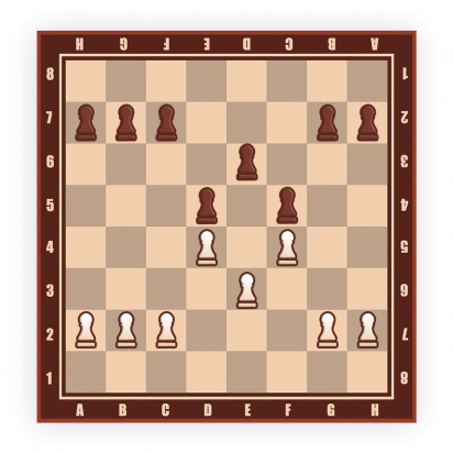 good pawn formation