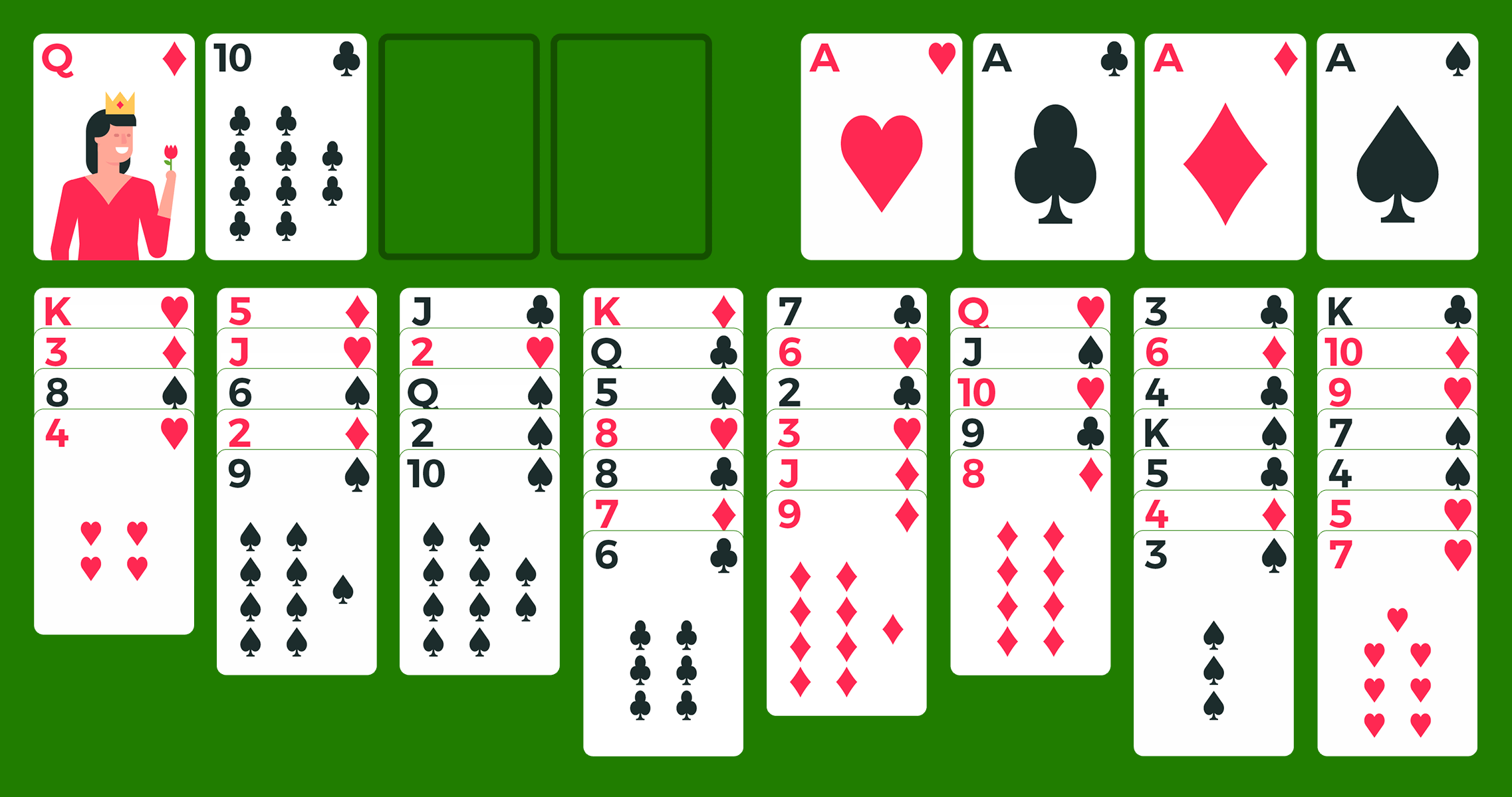 how to win freecell solitaire