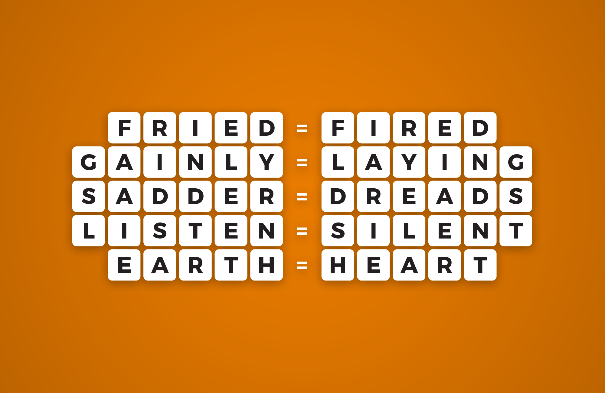anagrams word puzzles