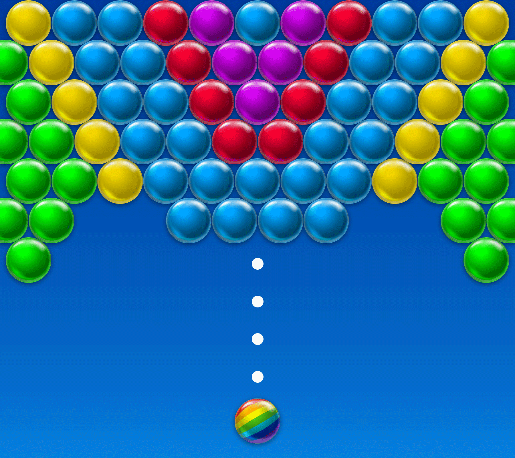 bubble shooter to win