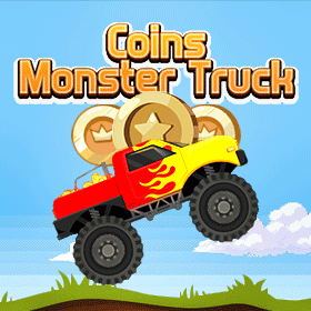 Coins Monster Truck icon