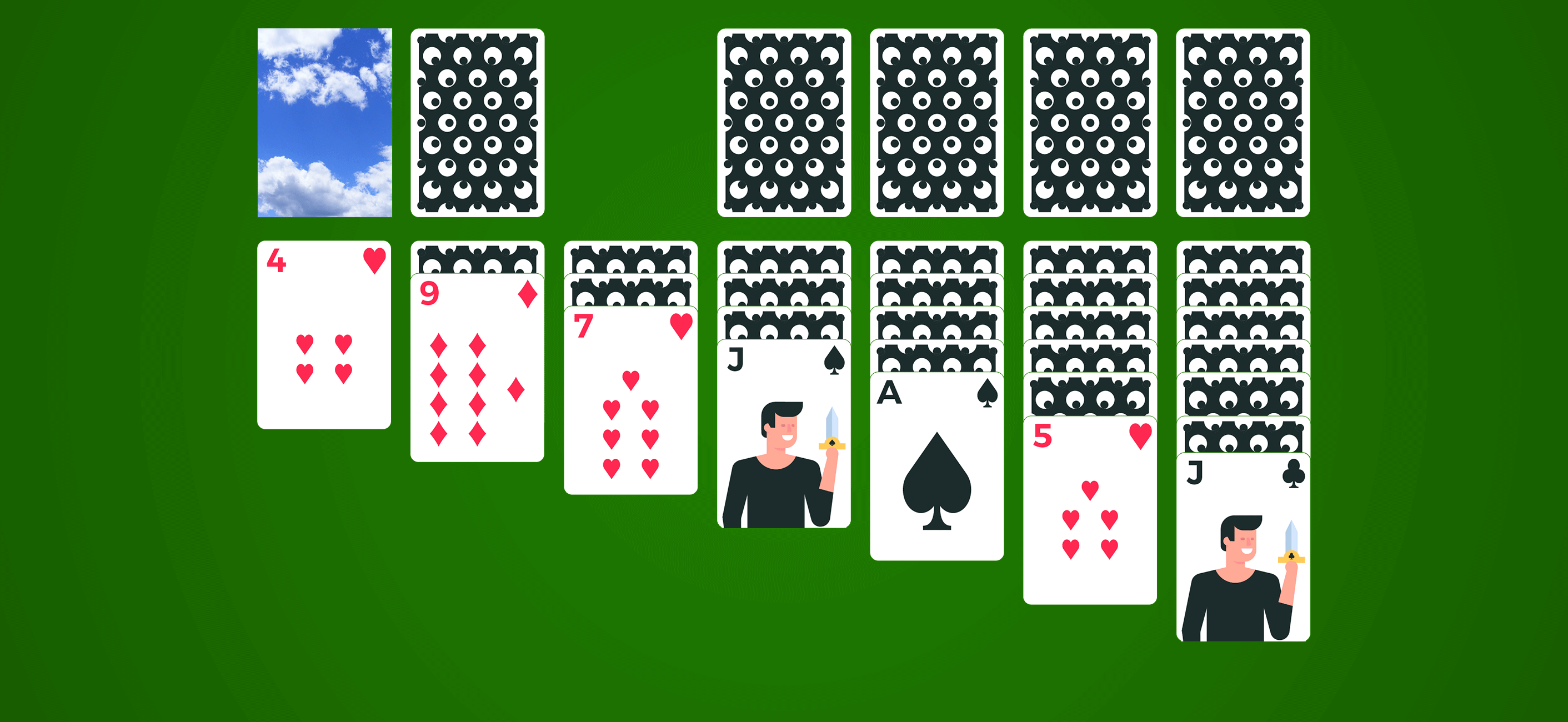 solitaire game play
