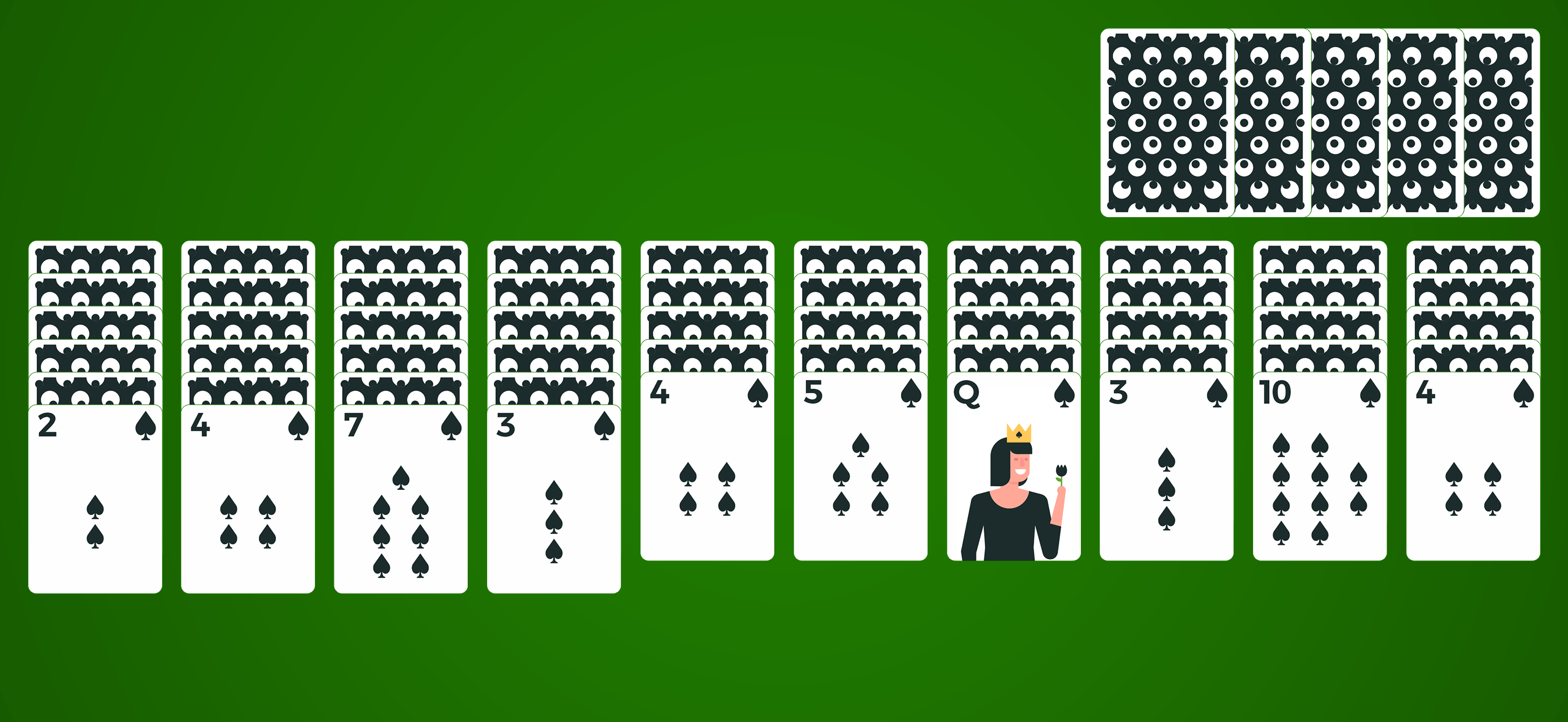 spider solitaire cards