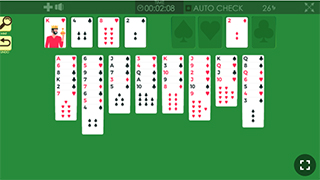 freecell solitaire game process