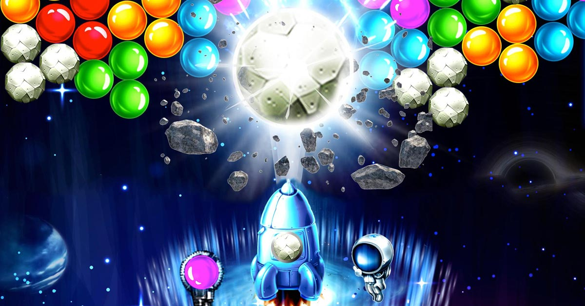 Space Bubble Shooter Game