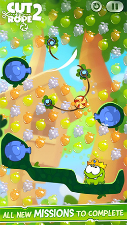 cut the rope 2 missions