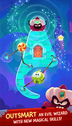 cut the rope magic outsmart