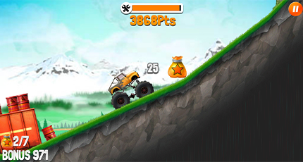 truck trials game play