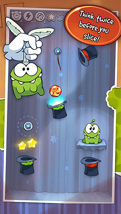 think and then cut the rope